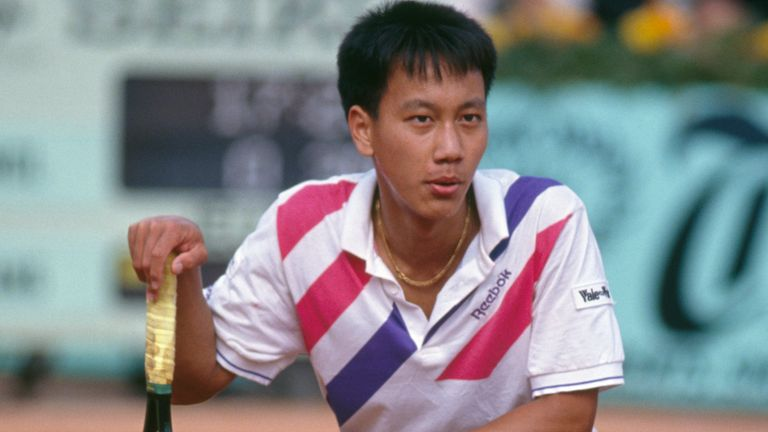 Michael Chang famously used the underarm serve en route to French Open glory in 1989