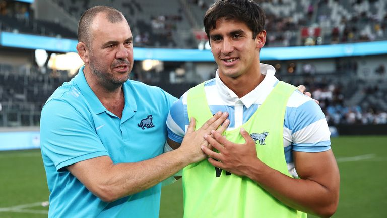 Michael Cheika helped Argentina plot the downing of the All Blacks