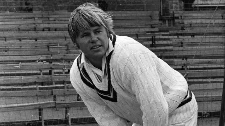 Mike Procter was a threat with bat and ball