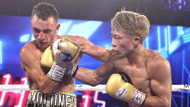 Inoue knocked out Moloney