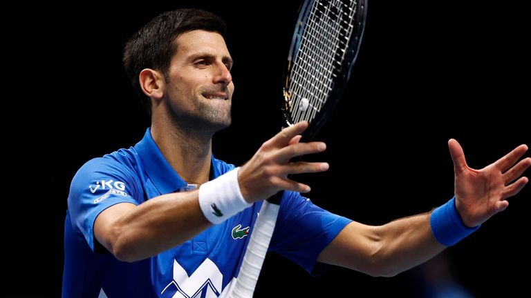 Novak Djokovic hopes things will return to some normality in time for the Australian Open