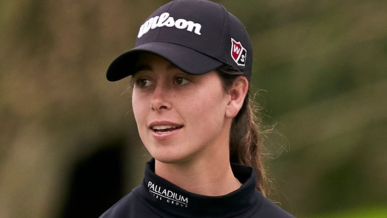 Nuria Iturrioz carded a three-under 69 on the final day