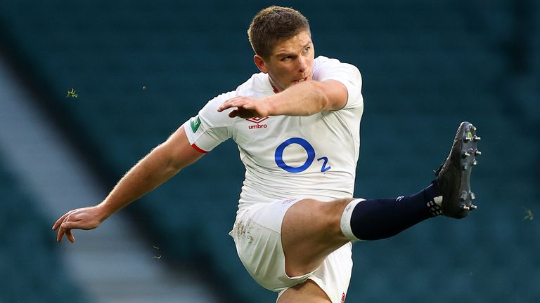 Owen Farrell kicked strongly and was part of an extremely strong defensive unit