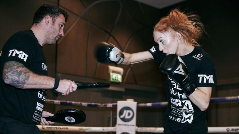 Rachel Ball aims to become Britain's newest world champion