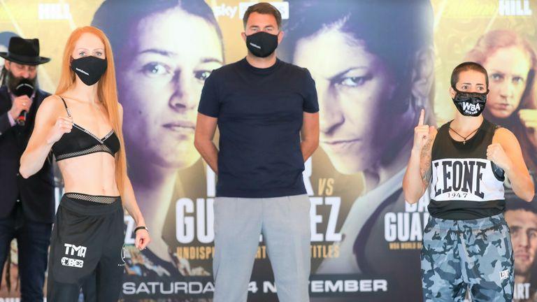 Rachel Ball battles Jorgelina Guanini for the WBC interim title