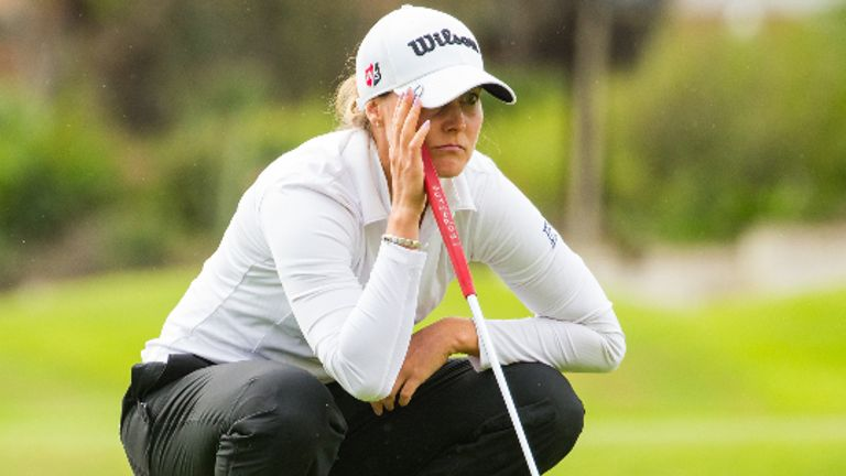 Sanna Nuutinen is chasing a maiden Ladies European Tour title