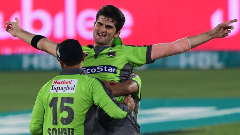 Shaheen Afridi has taken 17 wickets for Lahore Qalandars in the 2020 Pakistan Super League