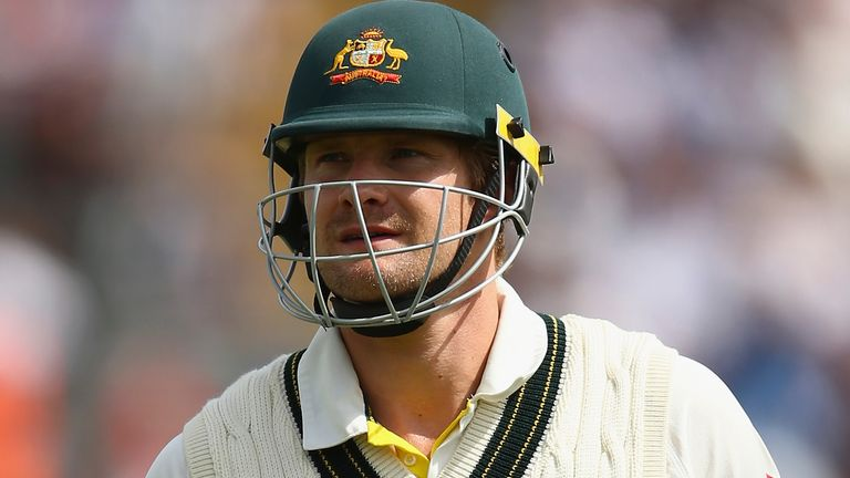 Shane Watson played in five Ashes series for Australia