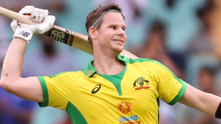 Steve Smith hit his second successive ODI century against India at the SCG