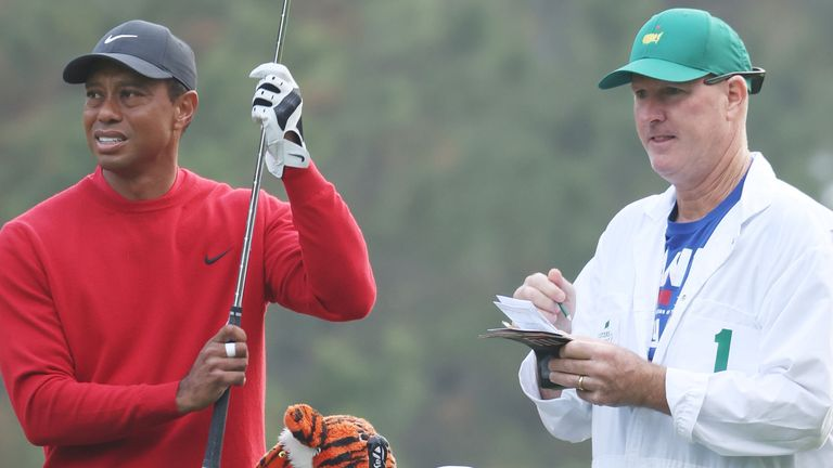 Tiger Woods' was chasing a record-equalling sixth Masters victory this week