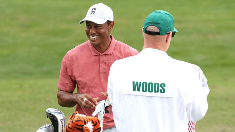 Tiger Woods returns as defending champion at The Masters