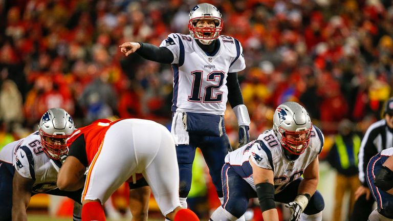 Tom Brady's New England Patriots stopped the Chiefs in the AFC Championship game in Mahomes' first season as starter