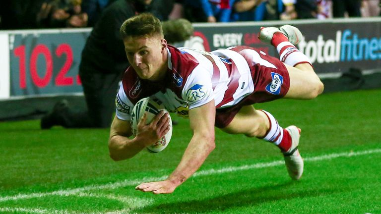 Tom Davies impressed enough on a trial to earn a Wigan contract