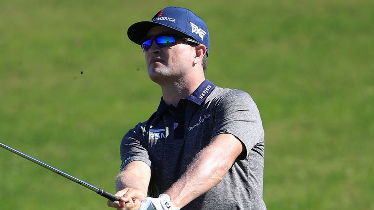 Zach Johnson started and finished his 65 with huge birdie putts