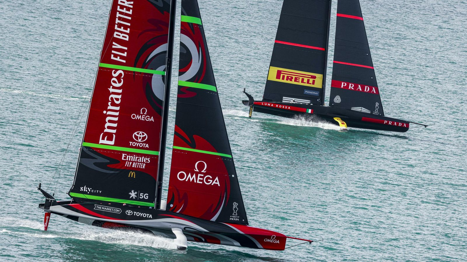 36th America's Cup: Emirates Team New Zealand win America's Cup World Series in Auckland