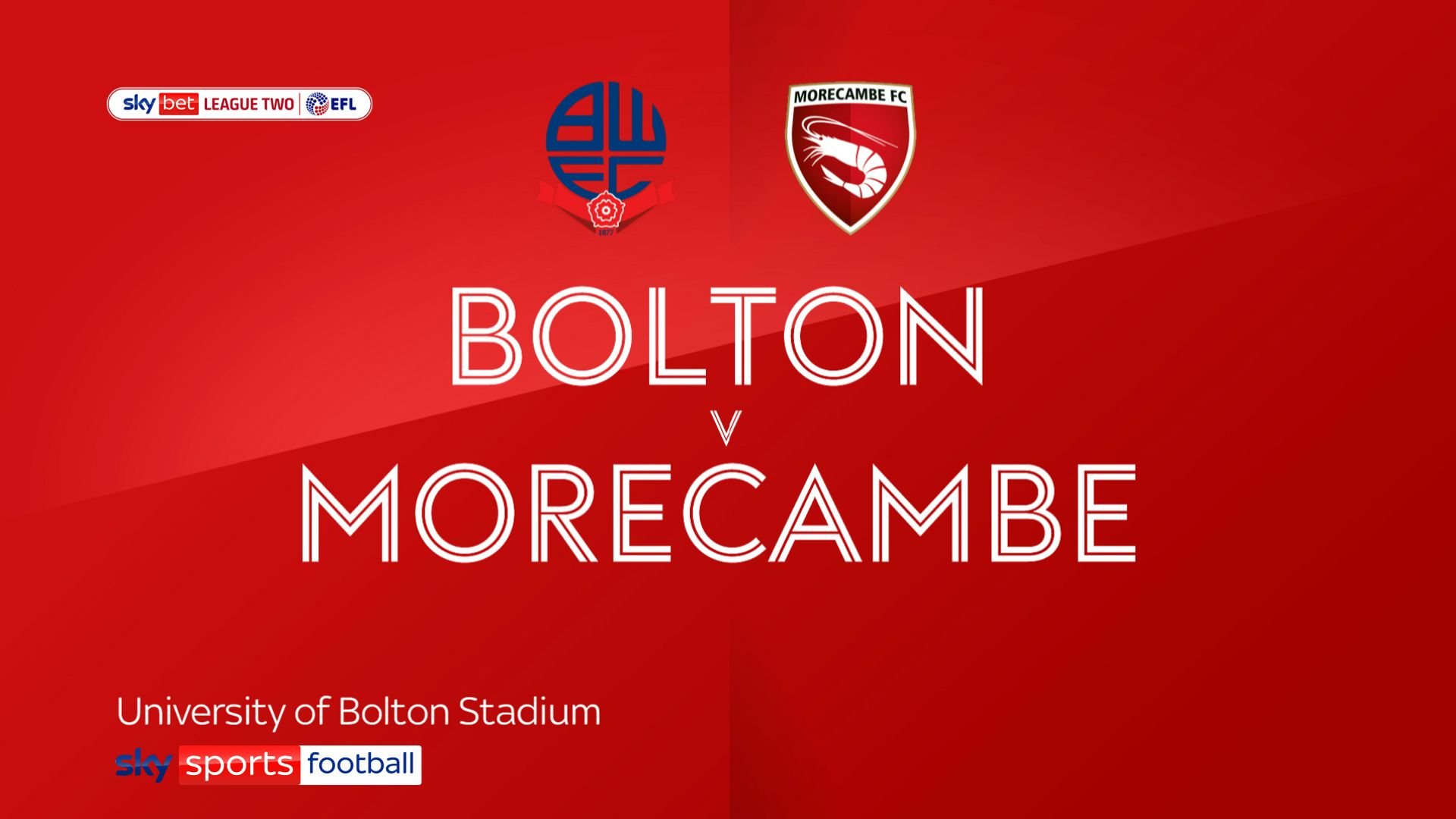 Maddison sees red as Morecambe hold Bolton