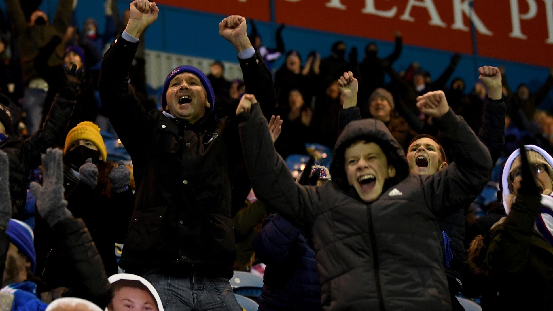 Fans return to EFL games for first time in 266 days