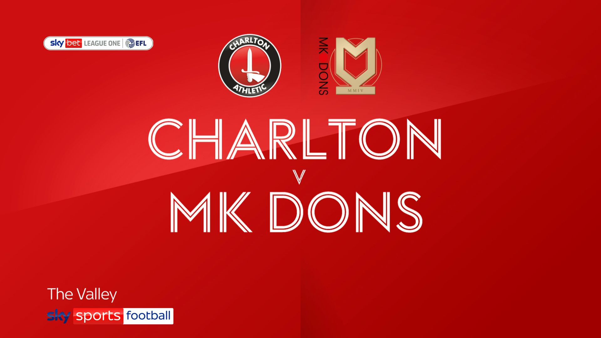 MK win at Charlton in front of home fans