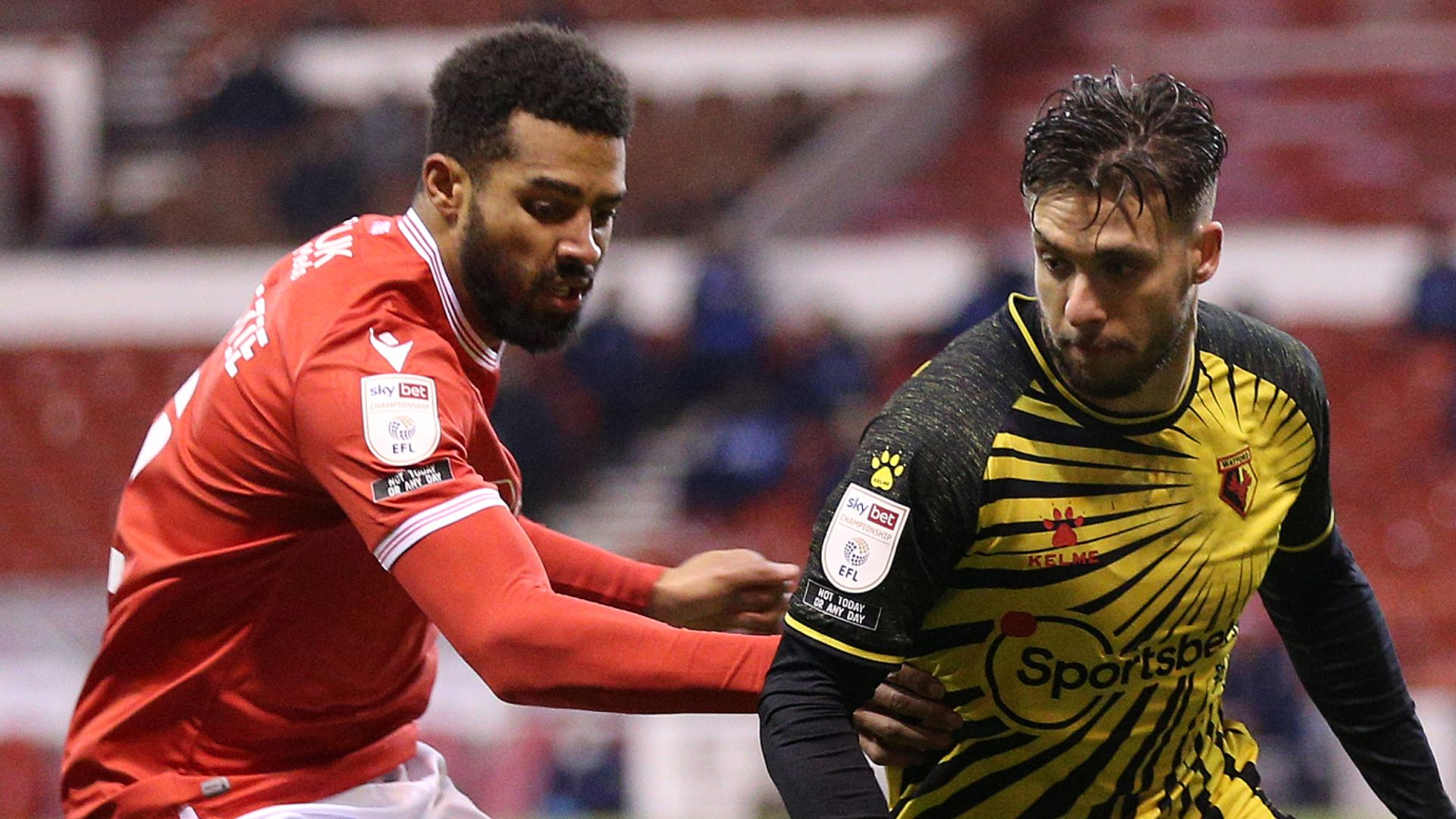Forest hold Watford at the City Ground