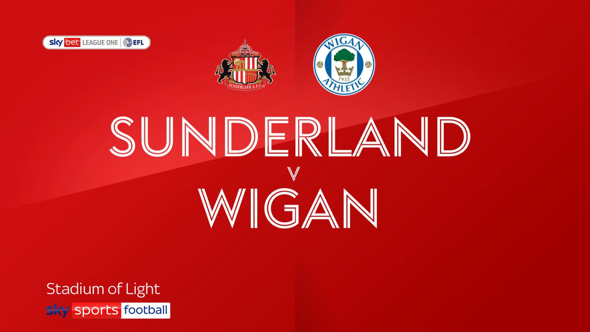 Sunderland rally to beat Wigan