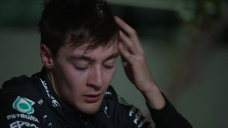 George Russell was left bitterly disappointed after failing to win for the first time in Formula One with Mercedes.