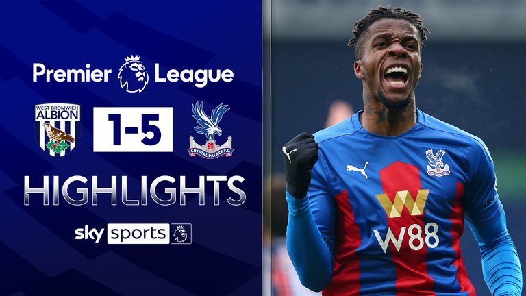 FREE TO WATCH: Highlights from Crystal Palace's win against West Brom in the Premier League