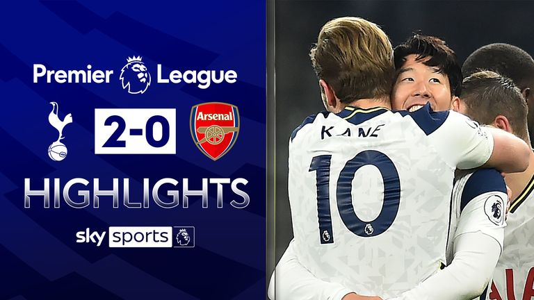 FREE TO WATCH: Highlights from Tottenham's win over Arsenal in the Premier League