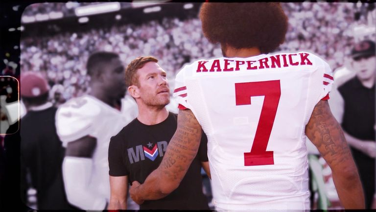 The inside story of how former Green Beret Nate Boyer inspired NFL quarterback Colin Kaepernick to take a knee back in September 2016