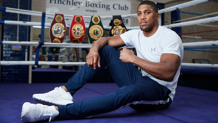 Anthony Joshua discusses two-fight deal with Fury