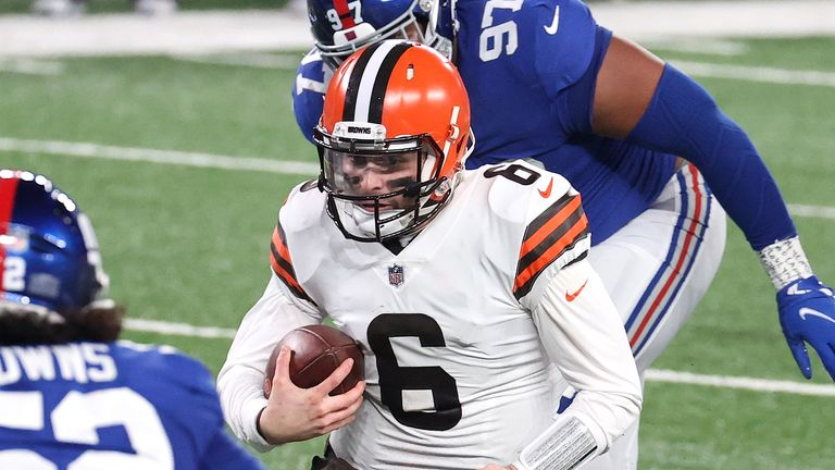 Baker Mayfield impressed again as the Browns beat the Giants on Sunday Night Football
