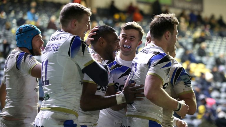 Bath picked up their first victory of the 2020/21 Premiership season on Saturday