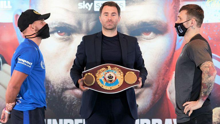 Saunders defends WBO belt against Martin Murray live on Sky Sports