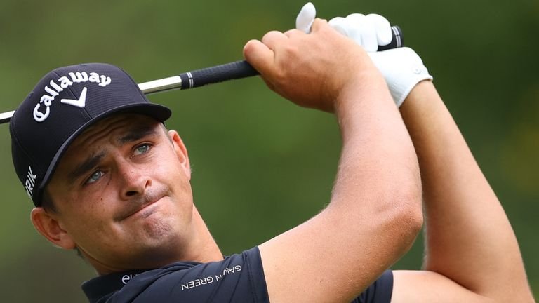 Christiaan Bezuidenhout holds a share of the early lead on home soil in South Africa