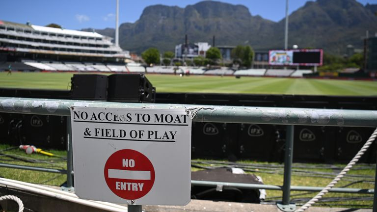 There was hope that two games could be played in Cape Town on Tuesday and Wednesday but the tour was then postponed