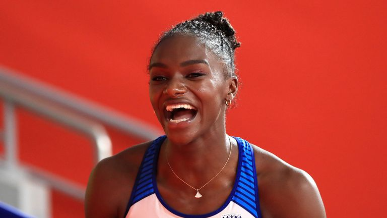 Dina Asher-Smith says some people are surprised when they hear that she has a passion for fashion, as well as being an elite athlete