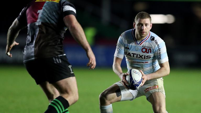 Finn Russell controlled the game for Racing 92