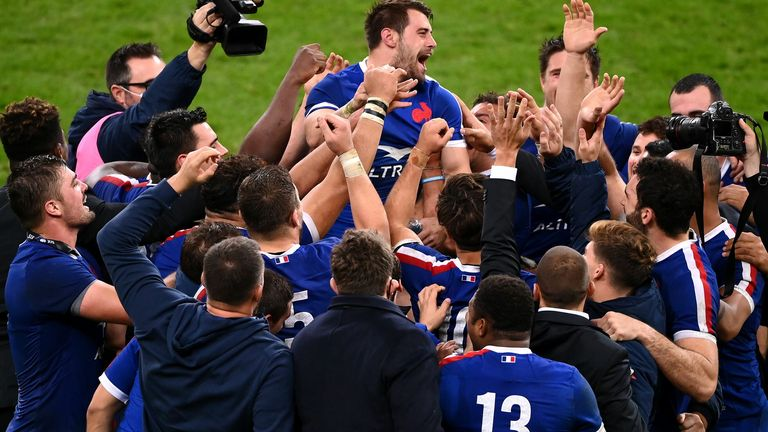 France have never won the World Cup, but many have earmarked them as potential contenders after showcasing their depth in the Autumn Nations Cup this year