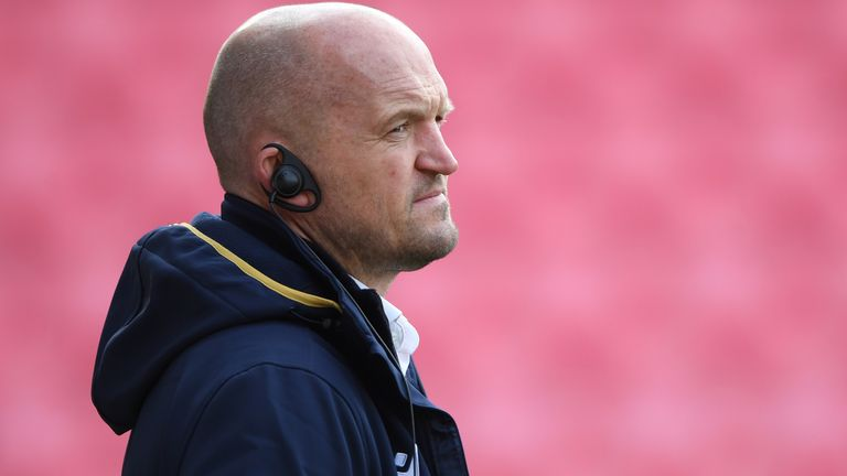 Gregor Townsend says Scotland have been drawn in the toughest group