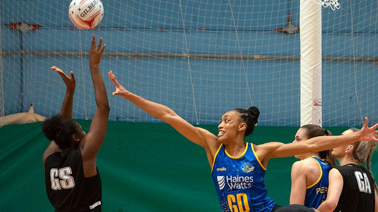 Layla Guscoth's return to Team Bath Netball is a great one for the outfit and the league (Image Credit: Clare Green for Matchtight)