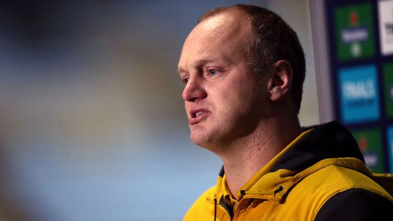 L'entraîneur-chef de Wasp Lee Blackett a été impressionné par l'impact de l'ancien joueur de RL Martin Gleeson