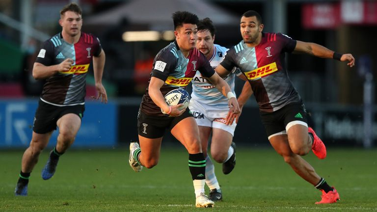 Marcus Smith tries to create something for Quins
