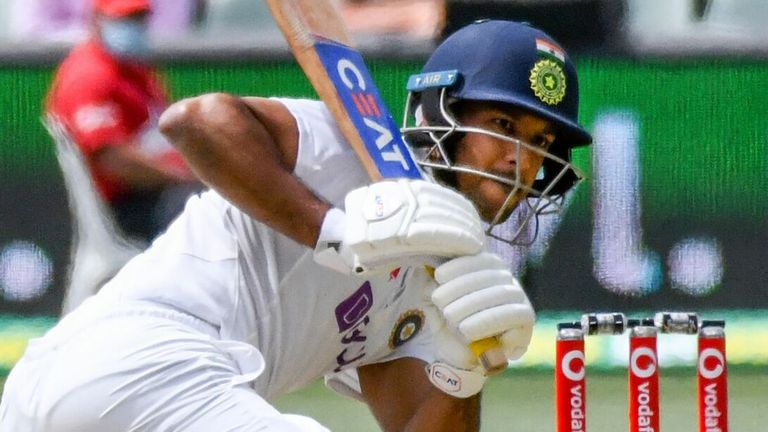 India opener Mayank Agarwal moved passed 1,000 Test runs - scant consolation after his team's crushing defeat