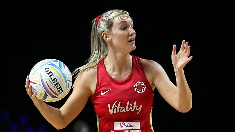 Natalie Haythornthwaite will be England's co-captain alongside Serena Guthrie