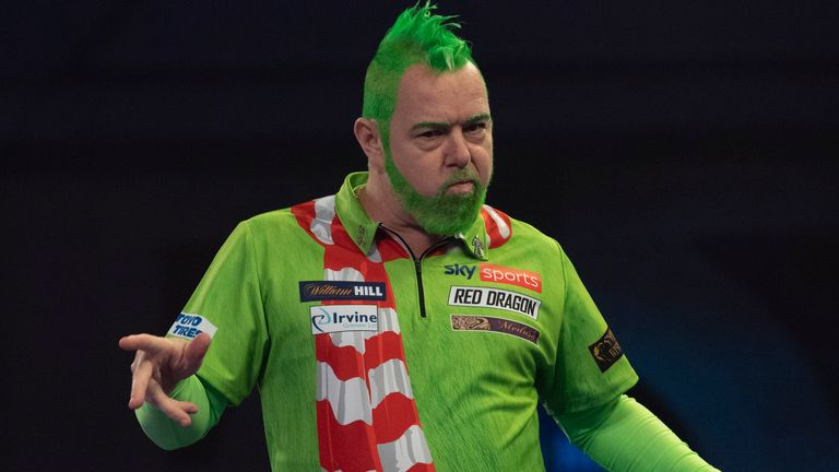Reigning champion Wright seeks to defend his crown's rise to top PDC Order of Merit