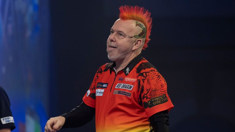 Peter Wright has come under scrutiny for constantly changing his darts following an underwhelming start to 2021