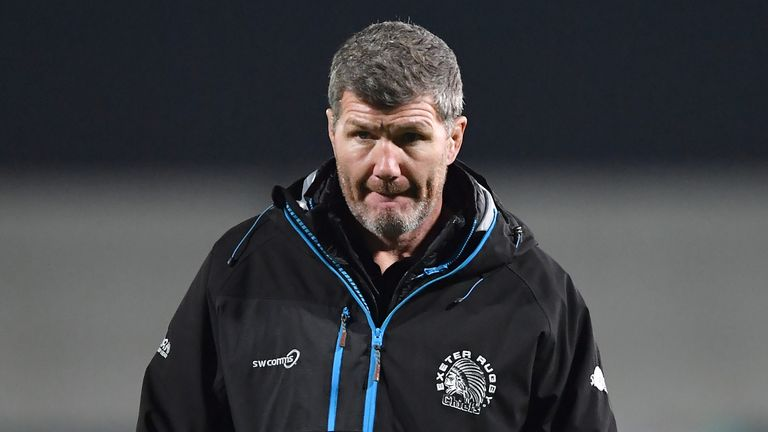 Rob Baxter's Chiefs are seeking their eighth home win in succession in Europe