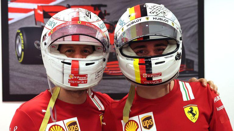 Spot the difference? Credit: @Scuderia Ferrari Press Office