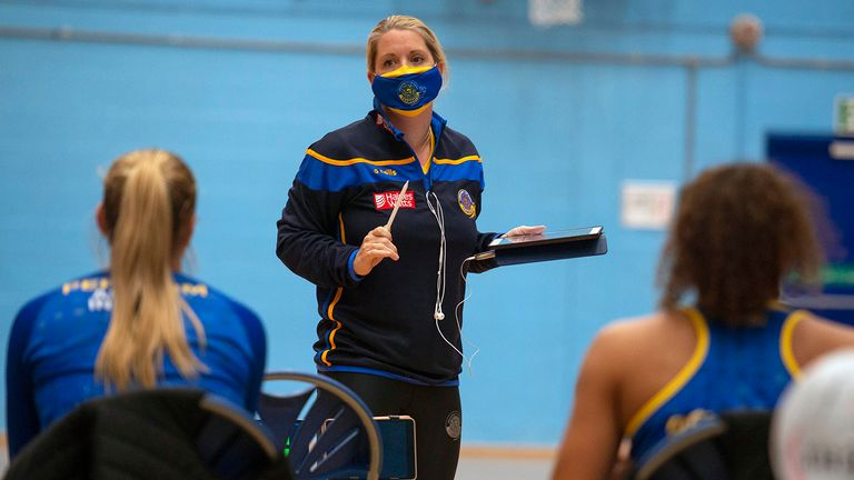 Anna Stembridge and Team Bath Netball have their eyes on the prize this season (Image Credit: Clare Green for Matchtight)