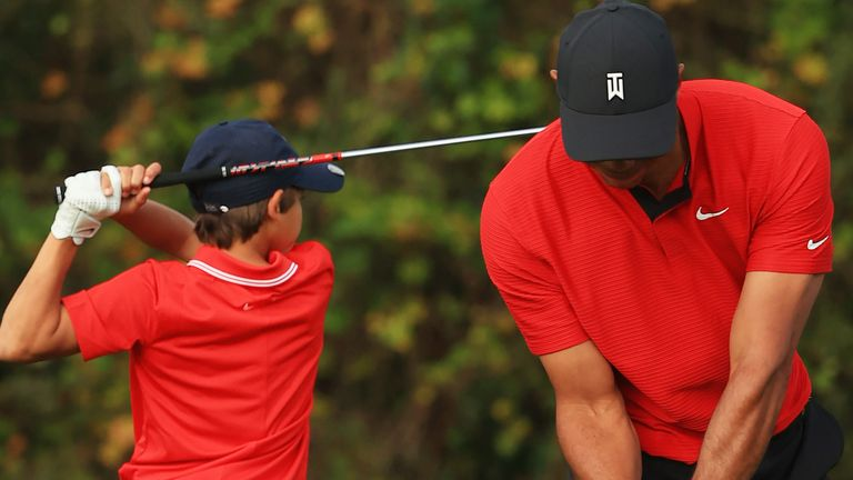 Tiger Woods reflects on a memorable week competing with his 11-year-old son, Charlie, at the PNC Championship