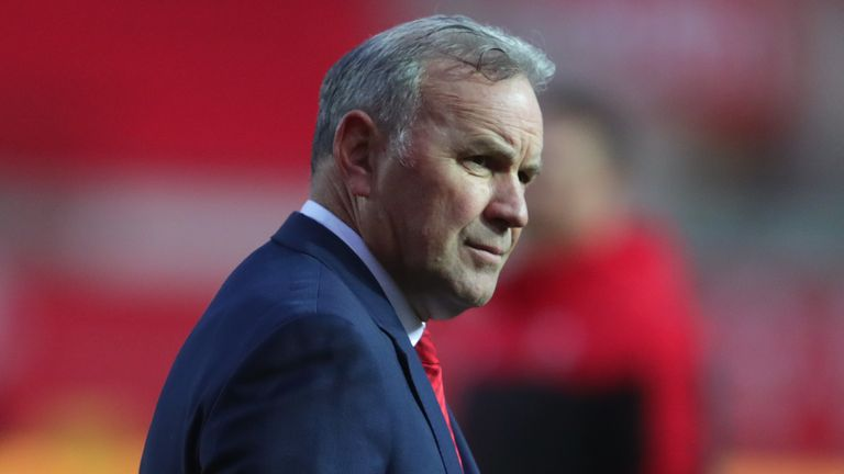 Wayne Pivac has won only three of his 10 Tests in charge of Wales